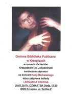 Plakat_koncert Kuby Michalskiego.jpeg